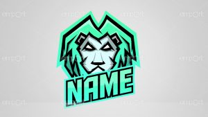 Gamer Logo Löwe Twitch Avatar Profilbild
